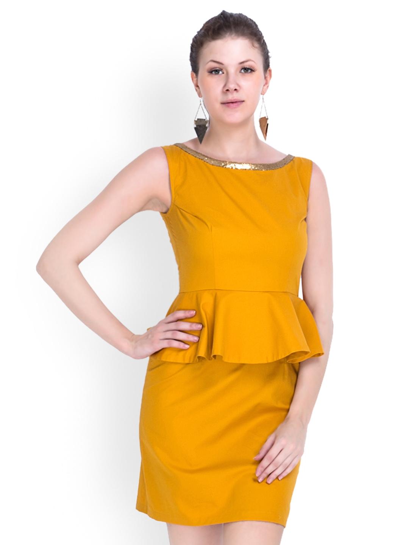 Buy peplum dresses online