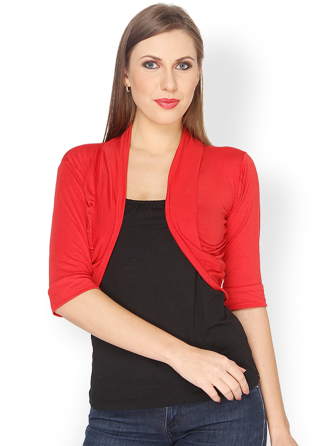 Jazz up her look with girls cardigans, shrugs, and boleros. Whether you need an elegant bolero for a special occasion dress or just a trendy cardigan to beat the chill we have styles she will love. Pair our shrugs, cardigans, and boleros with tops and pants for a unique boutique look.