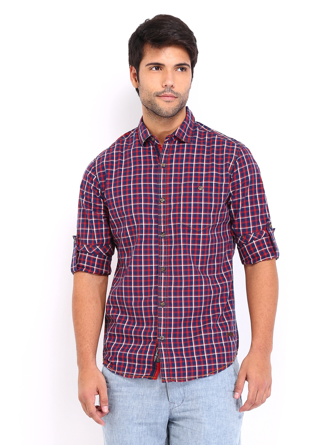 Mens casual shirts online shopping india