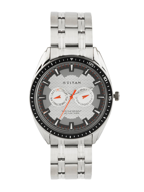 myntra titan silver toned 240104 buy