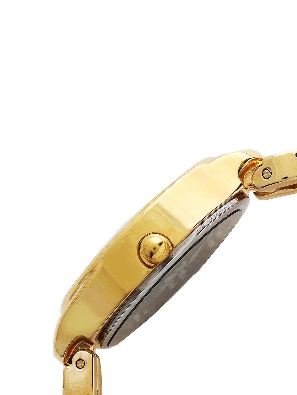 myntra titan women silver toned dial watch 258072 buy