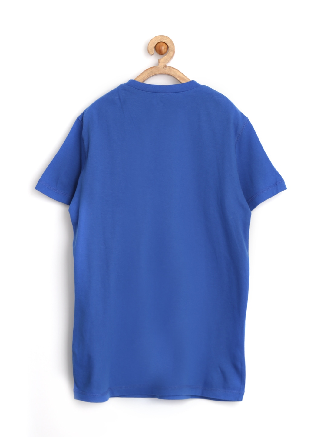 Myntra United Colors Of Benetton Boys Blue Printed T Shirt