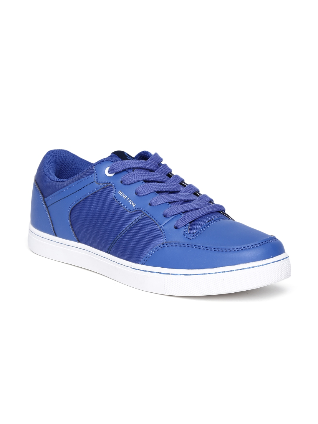 myntra united colors of benetton blue casual shoes