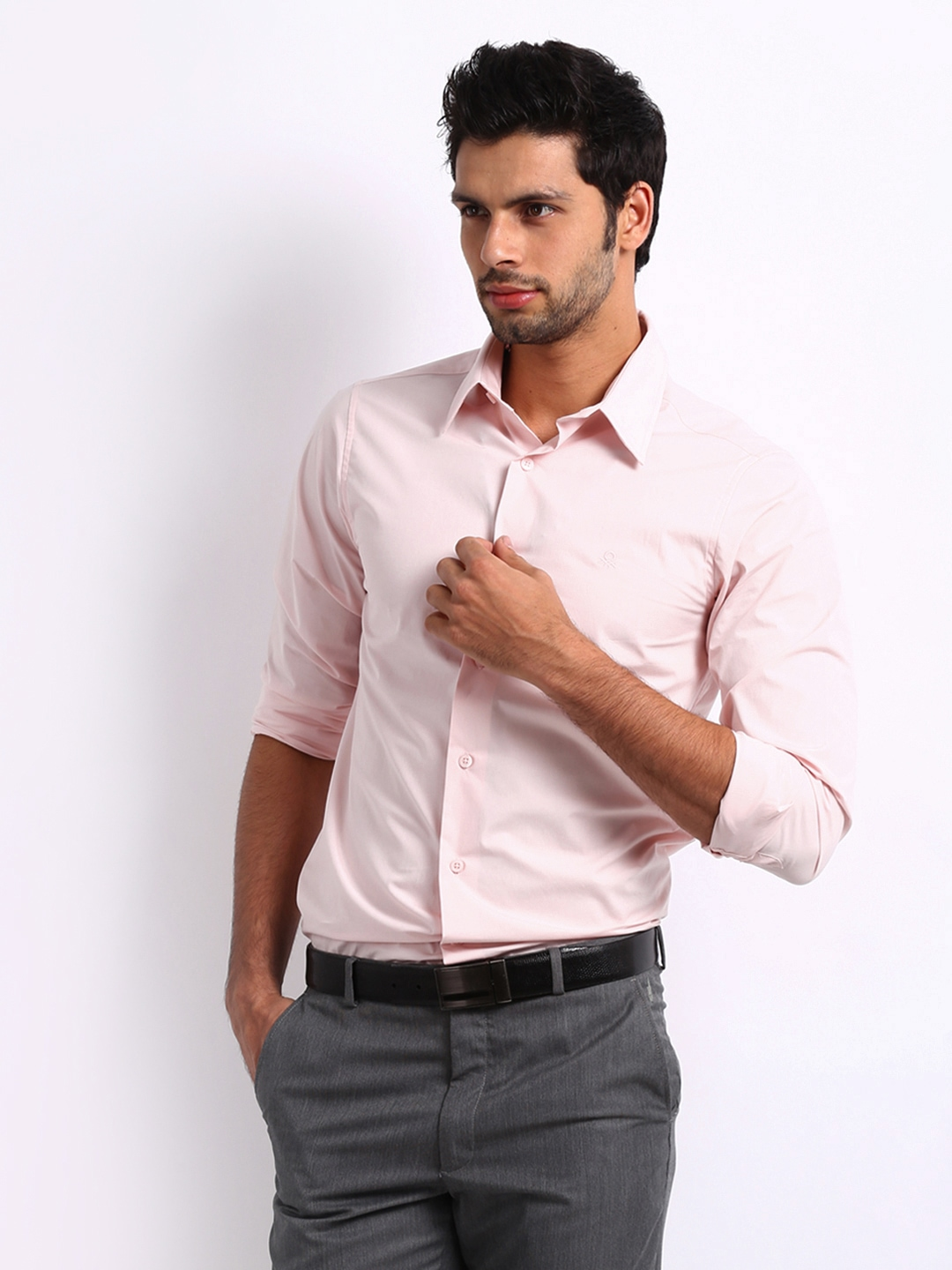 Light Pink Shirt Mens | Artee Shirt