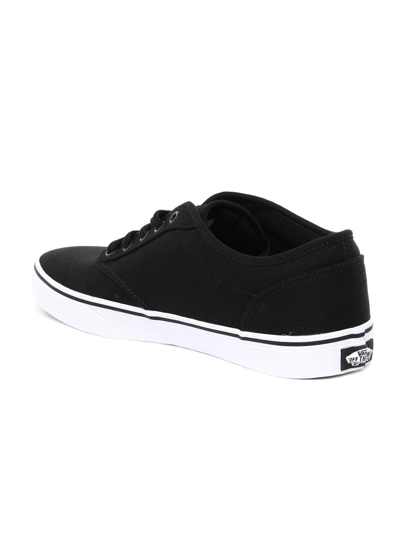 myntra vans black casual shoes 647870 buy myntra