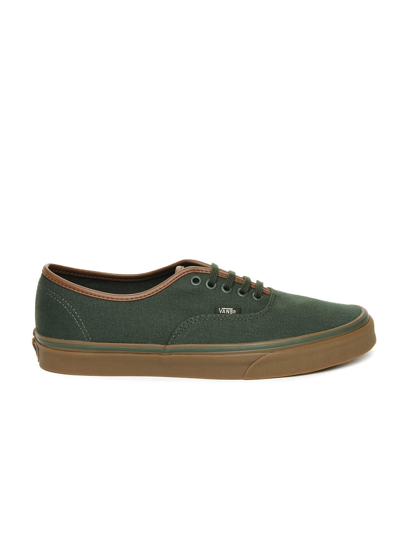myntra vans green casual shoes 647913 buy myntra