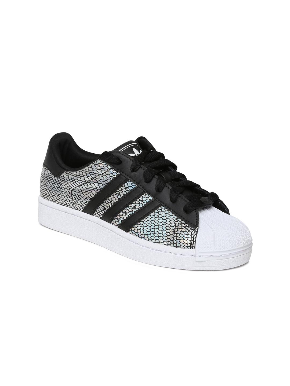 adidas originals superstar 2 womens black and white