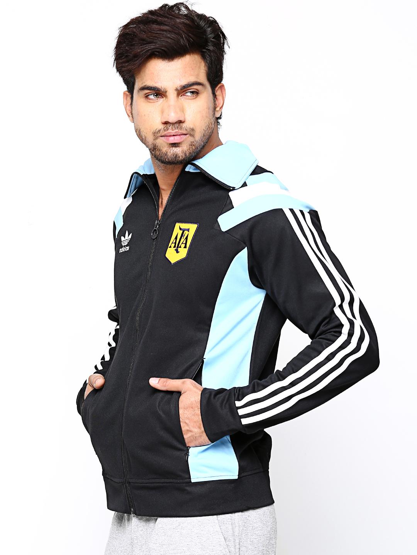 Adidas Originals Jacket Myntra - Sweater Grey