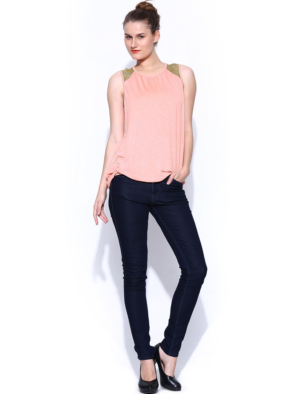 Myntra Deal Jeans Women Pink Top 673334 | Buy Myntra Deal ...