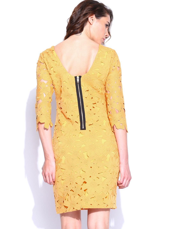Innovative Myntra Van Heusen Woman Black U0026 White Polka Dot Printed Sheath Dress 636494 | Buy Myntra Van ...