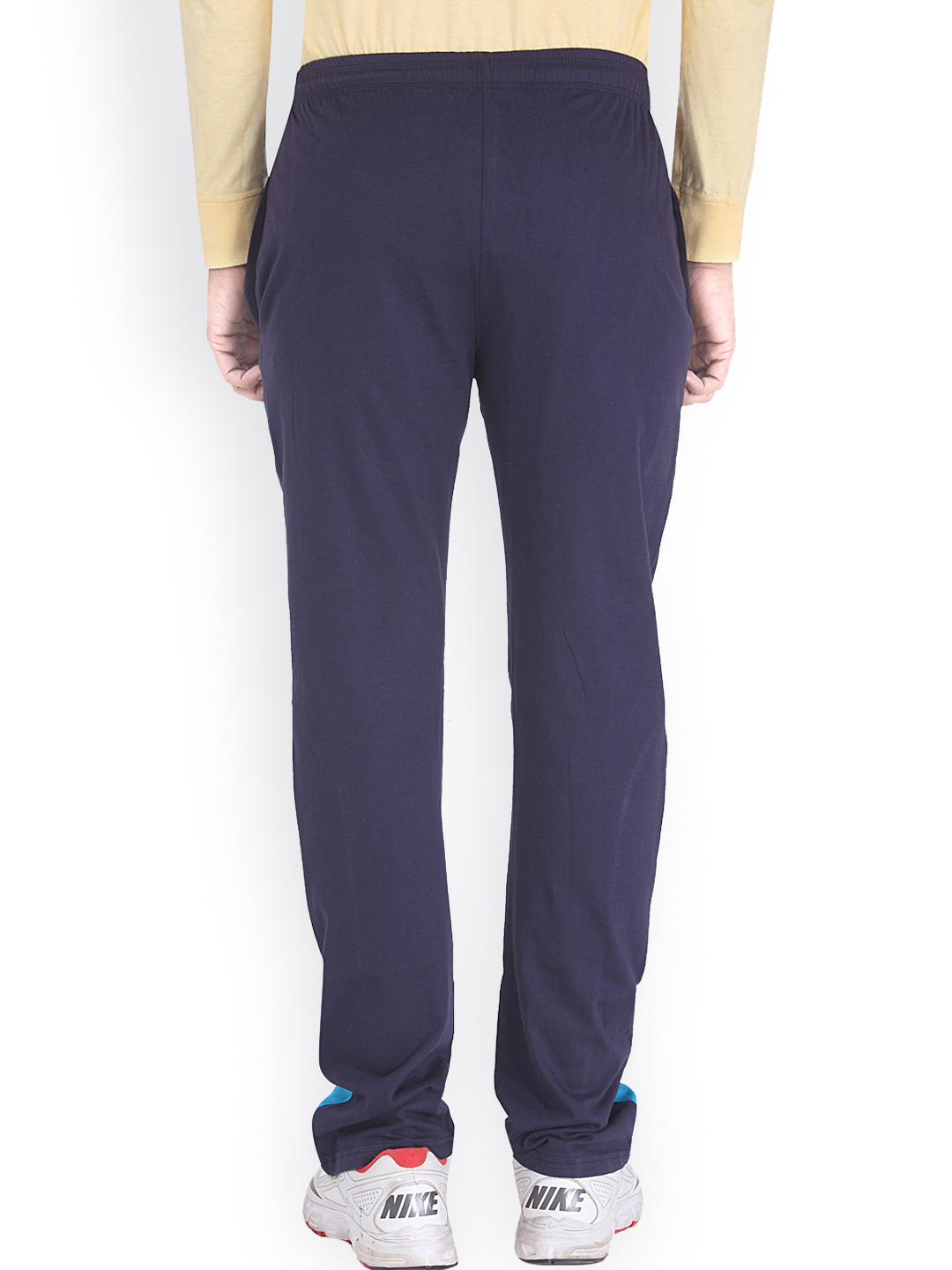 Myntra Fastinato Men Navy Track Pants 778179 | Buy Myntra at best price online. All myntra ...