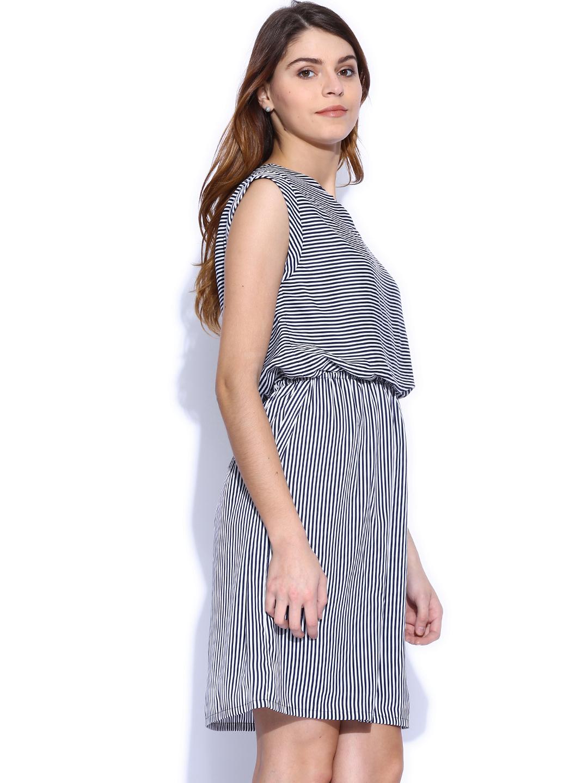 Unique Myntra Van Heusen Woman Orange A-Line Dress 709170 | Buy Myntra Van Heusen Woman Dresses At Best ...