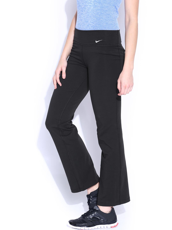 Amazing Nike Womenu0026#39;s Running Printed Tight Pants Track U0026 Field Black Fahsion | EBay
