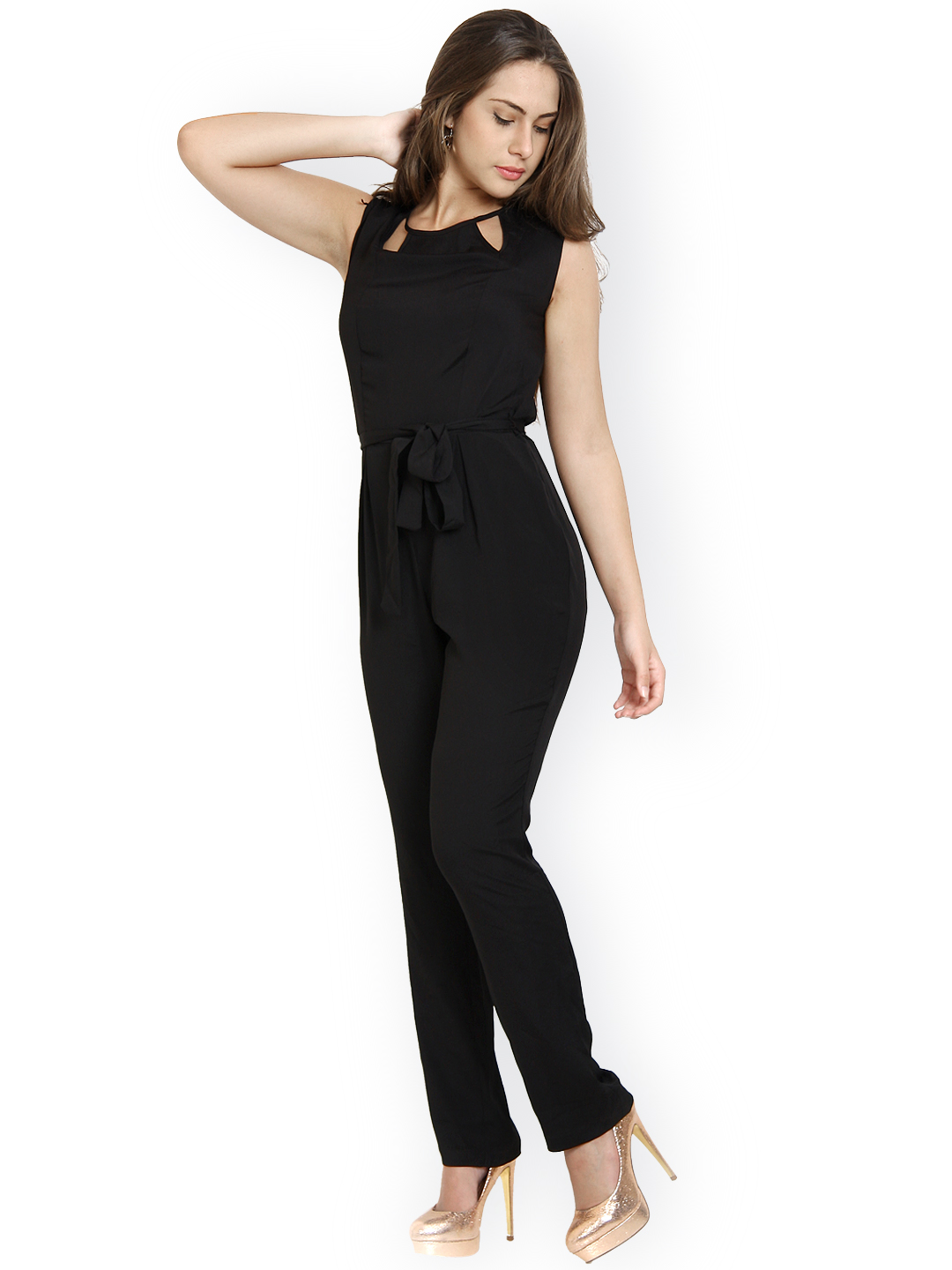 Myntra Avirate Women Black Jumpsuit 467438 | Buy Myntra Avirate Jumpsuit At Best Price Online ...