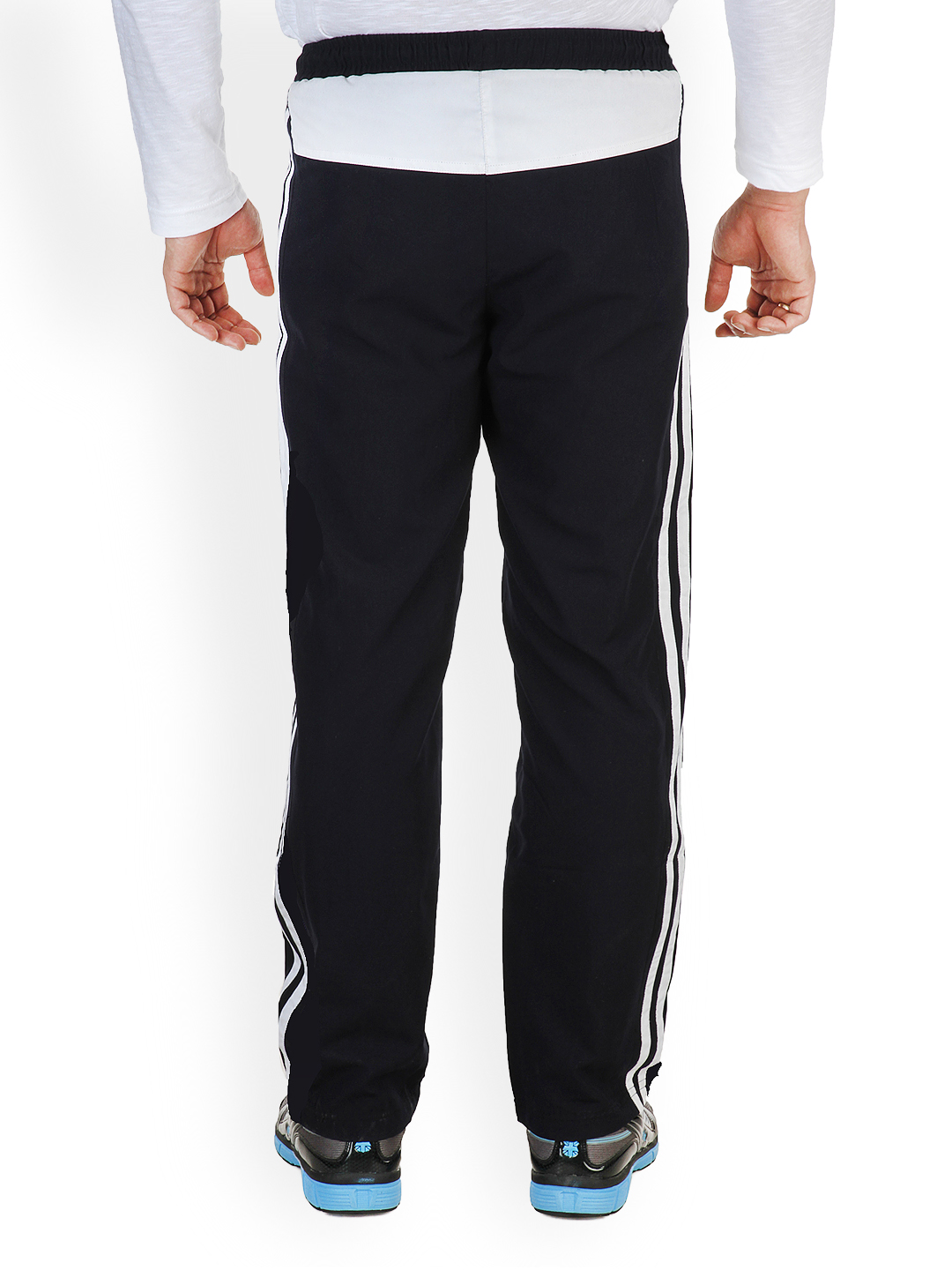 Myntra Dazzgear Men Navy Track Pants 493552 | Buy Myntra Dazzgear Track Pants at best price ...