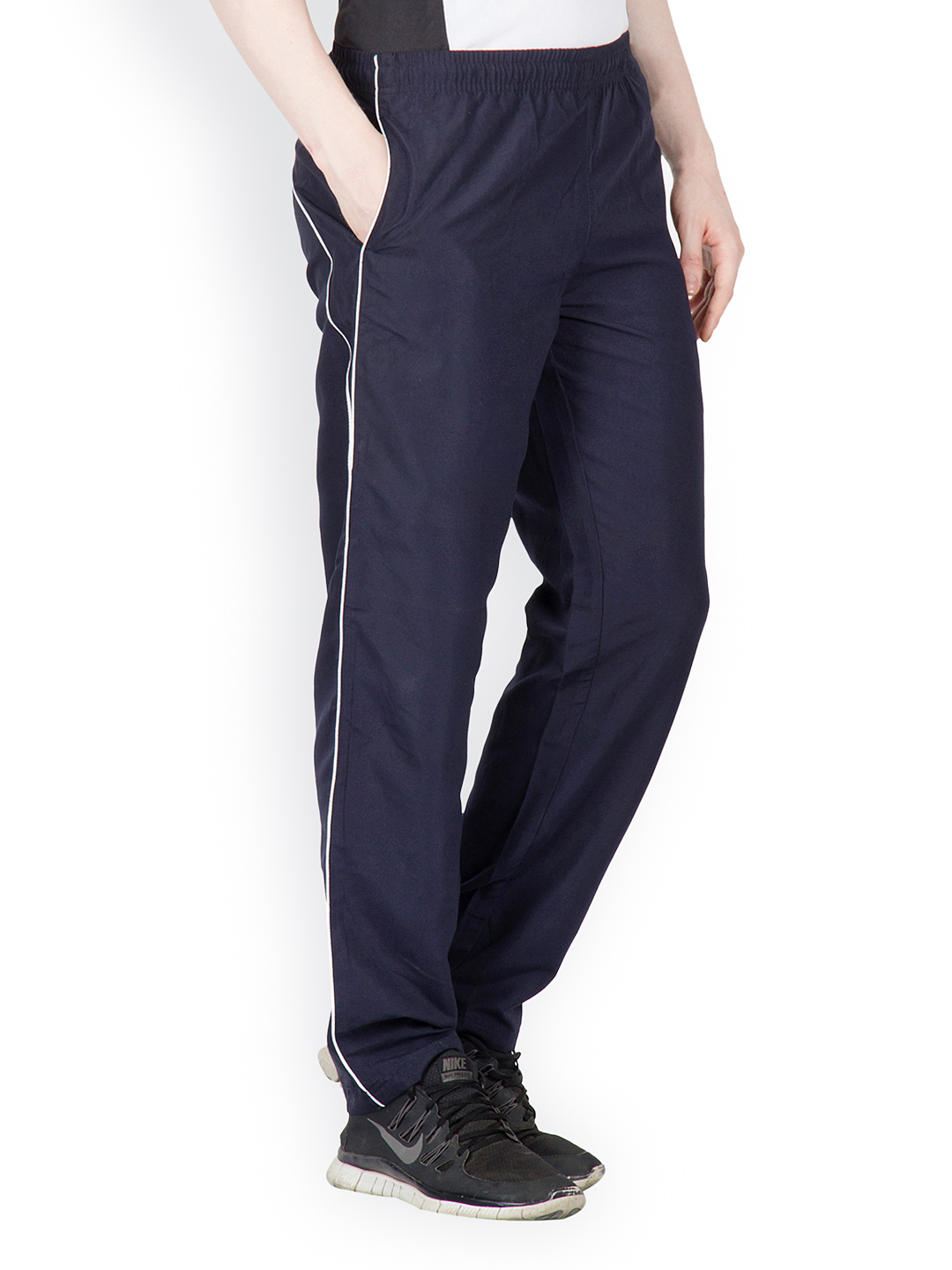 Myntra Dazzgear Men Navy Track Pants 480484 | Buy Myntra Dazzgear Track Pants at best price ...