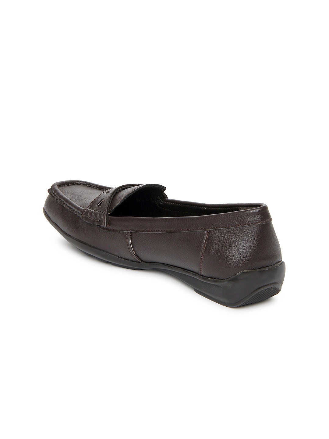 Myntra La Briza Women Dark Brown Flat Shoes 371244 | Buy Myntra La Briza Flats At Best Price ...