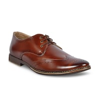 buy footlodge brown formal shoes formal shoes for