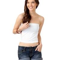 buy femella women white tube top   tops for women myntra