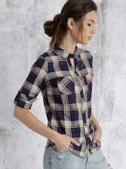 Shirts for Women - Buy Women's Shirts Online | Myntra