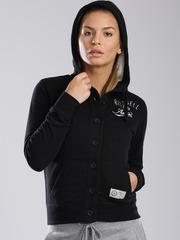 Russell Athletic Black Hooded Sweatshirt