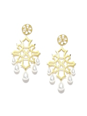 ahilya Gold-Plated Sterling Silver Drop Earrings