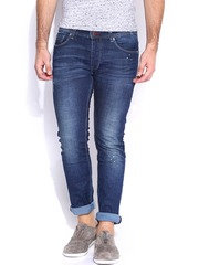 Being Human Clothing Blue Washed Skinny Jeans