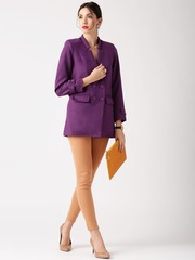 All About You from Deepika Padukone Purple Overcoat