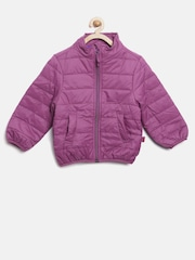 United Colors of Benetton Girls Purple Jacket