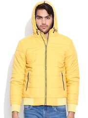 Fort Collins Yellow Hooded Jacket