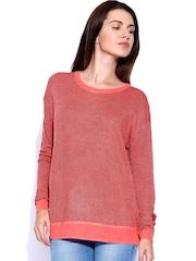 Lee Pink & Black Sweater