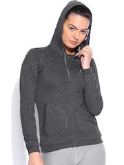 Sports52 Wear Charcoal Grey Hooded Sweatshirt