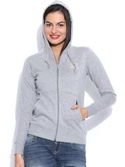 Sports52 Wear Grey Hooded Sweatshirt