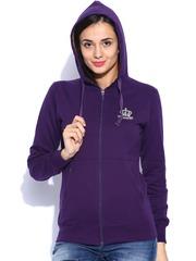 Sports52 Wear Purple Hooded Sweatshirt