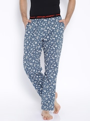 Jack & Jones Blue Printed Pyjamas 1751074009