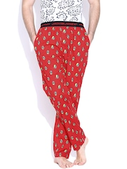 Jack & Jones Red Printed Pyjamas 1751075015