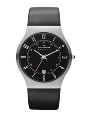SKAGEN DENMARK Men Black Dial Watch 233XXLSLBI