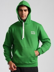 Russell Athletic Green Hooded Sweatshirt