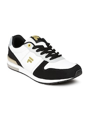 FILA Men White & Black Orazio Plus 2 Casual Shoes
