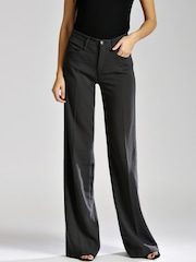 GAS Women Grey Iamira Palazzo Trousers