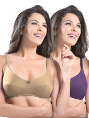 Sonari Pack of 2 Full-Coverage Bras afreen