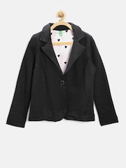 United Colors of Benetton Girls Black Blazer