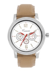 Camerii Men White Dial Watch WM147