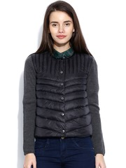 United Colors of Benetton Black Padded Jacket