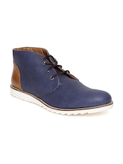 Arden by Knotty Derby Men Navy Casual Shoes