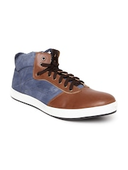 Arden by Knotty Derby Men Blue & Brown Casual Shoes