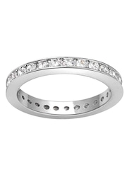 Peora Rhodium-Plated Sterling Silver Ring