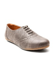 Marc Loire Women Grey Casual Shoes