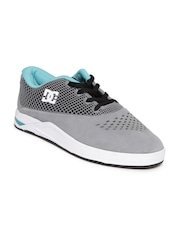 DC Boys Grey Casual Shoes