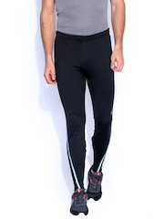 ASICS Black Motion Therm Running Mens Performance Tights